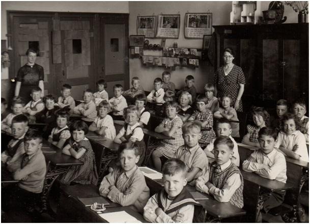 de tweede klas