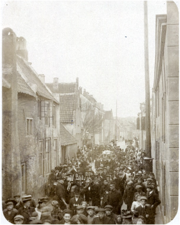 begrafenis HP Bouman 1911