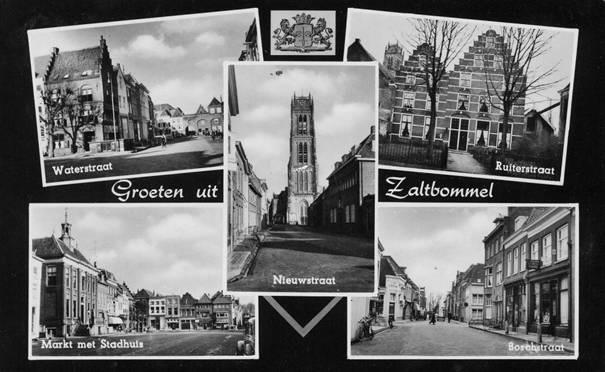 prentbriefkaart ruiterstraat