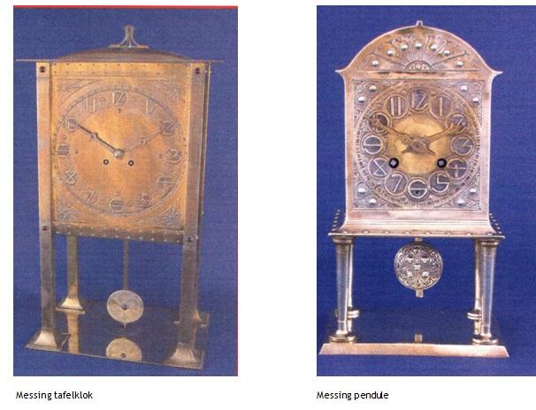 klokken en pendule