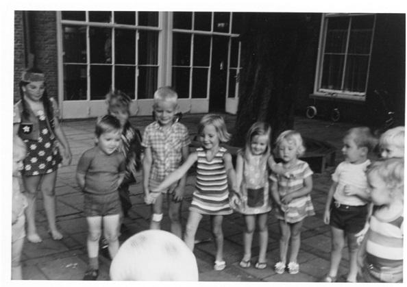 kinderen van kinderdagverblijf
