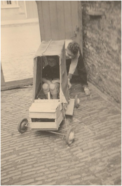 zelfgemaakte auto