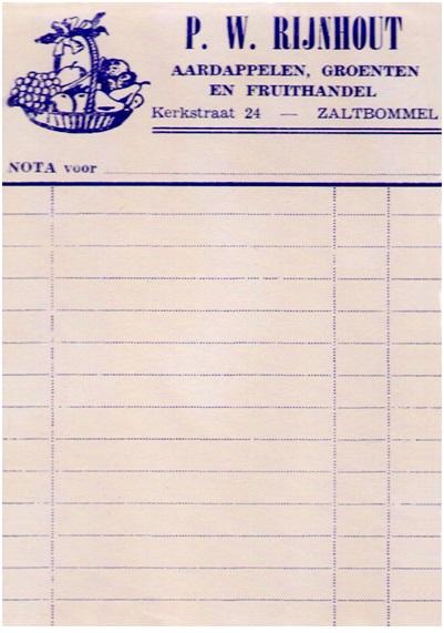bonnetjes Rijnhout