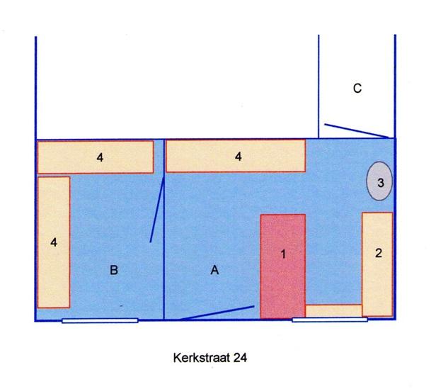 plattegrond groentewinkel rijnhout