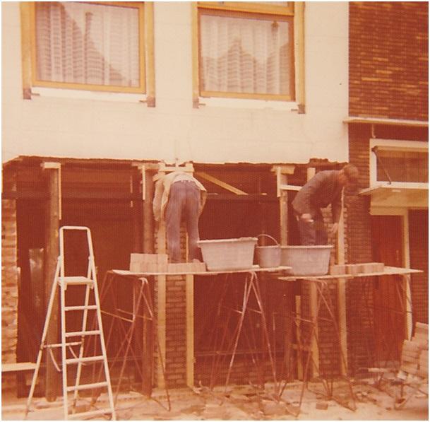 verbouwing boschstr zijde 1975