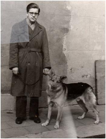 aart van hees met hond