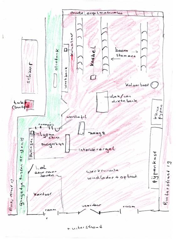 nieuwe plattegrond tiggelman