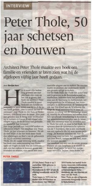 peter Thole 50 jaar design