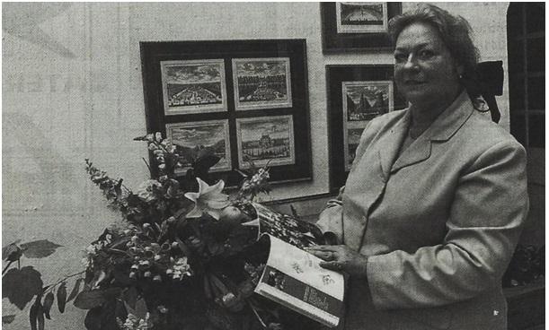 presentatie van haar boekje