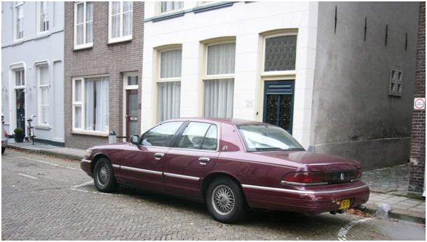 een van de karakteristieke autos