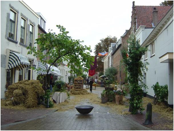 ruiterstraat tijdens vestingdagen