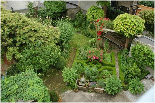 tuin ruiterstraat 35 en 37