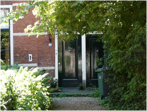 voordeuren ruiterstraat 14 en 16