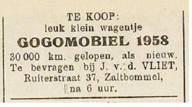 gogomobiel 1958