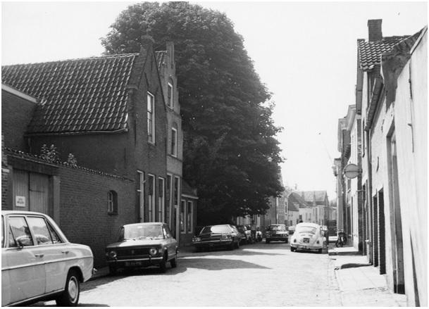 ruiterstraat auto s rond 1975