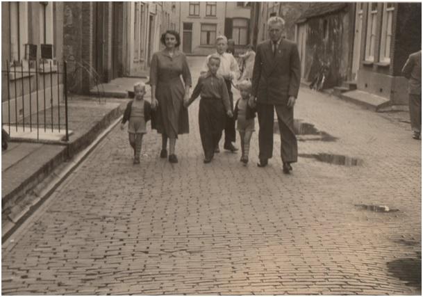 familie van den heuvel in de ruiterstraat