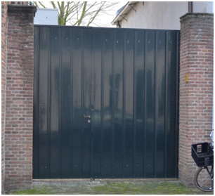 garagedeur ruiterstraat 8