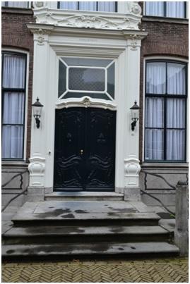 overzicht deur ruiterstraat 10