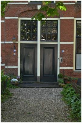overzicht deur ruiterstraat 14