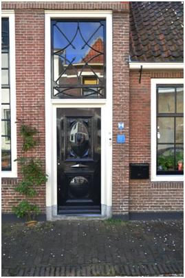 overzicht deur ruiterstraat 18