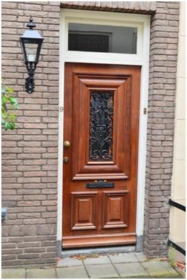 overzicht deur ruiterstraat 19