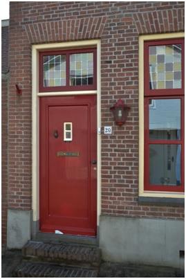 overzicht deur ruiterstraat 20