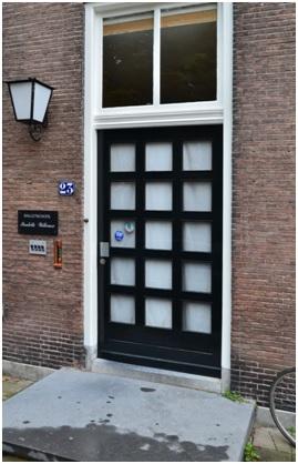 overzicht deur ruiterstraat 23-25