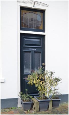 overzicht deur ruiterstraat 3-5