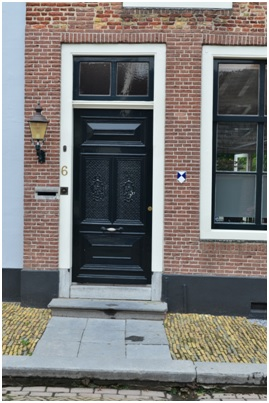 overzicht deur ruiterstraat 6