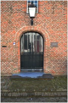 overzicht deur ruiterstraat 8