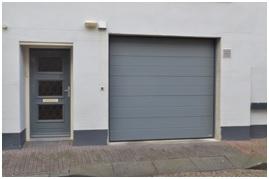 overzicht garagedeur ruiterstraat 2-4