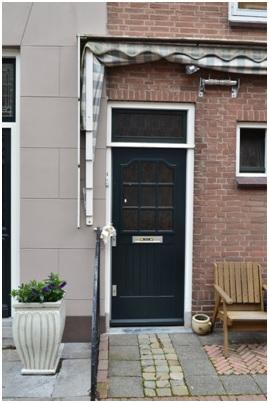 overzicht voordeur ruiterstraat 1