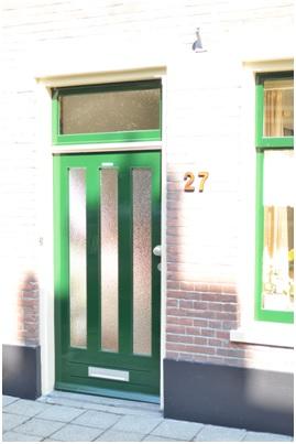 overzicht voordeur ruiterstraat 27