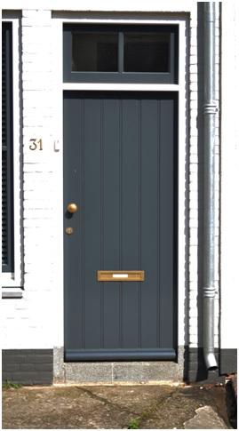 overzicht voordeur ruiterstraat 31