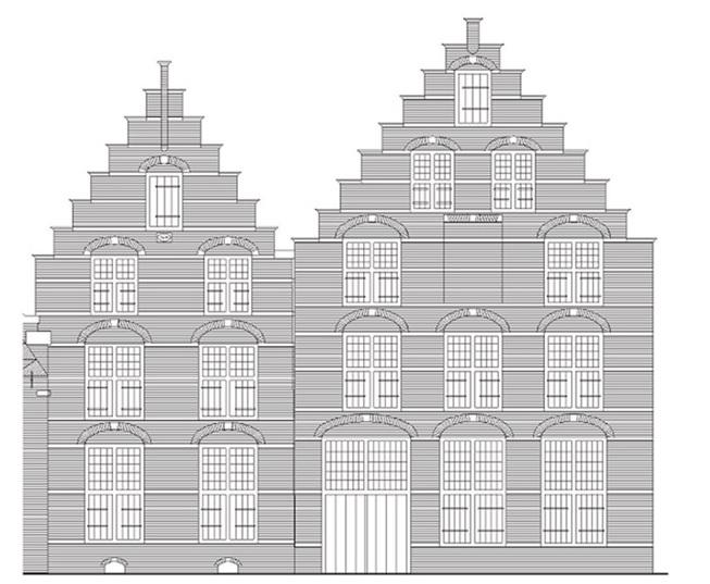 voordeur entre in 1630