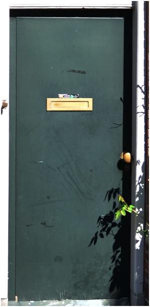 voordeur ruiterstraat 13
