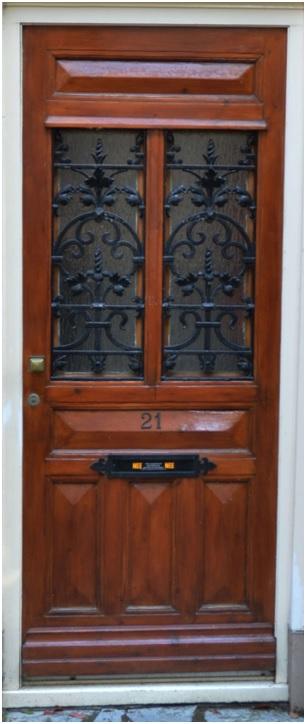 voordeur ruiterstraat 21
