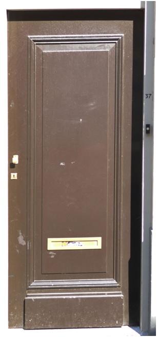 voordeur ruiterstraat 37