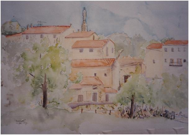 huizen in Boisson