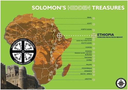 de mytische route van koning solomo