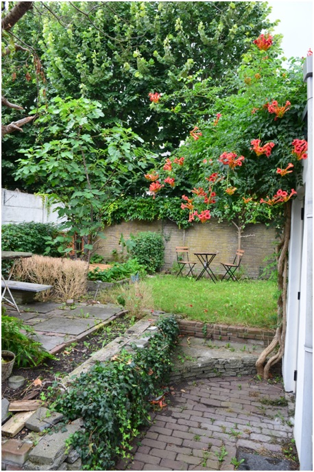 Ruiterstraat - Deco van de tuin ...